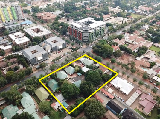 A prime development site in Hatfield; just one of many prime properties going on Auction on the 14th of March.