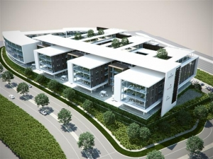 Artist impression of offices at the new Waterfall City at Waterfall Business Estate
