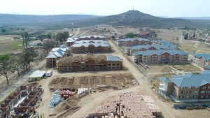 Construction of UFH Student Housing