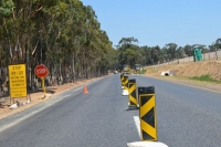 Resealing works on the R304 between Philadelphia and Adderley roads