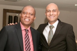 Executive Mayor Herman Mashaba SAPOA CEO Neil Gopal