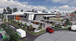 Atterbury Industrial Park development