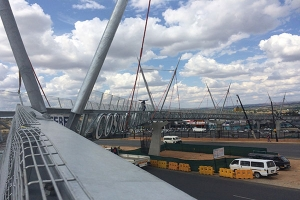 Cosmo Mall Pedestrian Bridge set to become a new Johannesburg landmark  when it opens later this month